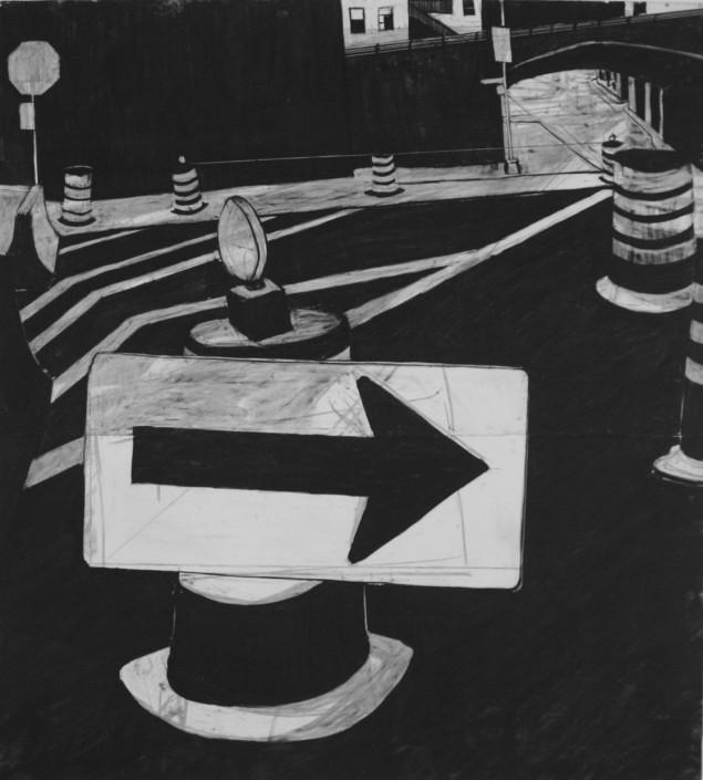 Drawings of New York artist Karlis Rekevics